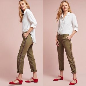 Anthropologie Relaxed Robin Striped Chino